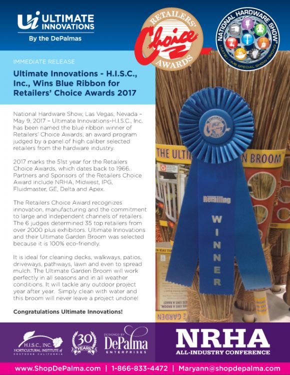 Retailers Choice Award Ultimate Innovations