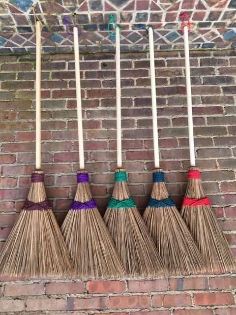 Ultimate Colored Coconut Garden Broom Ultimate Innovations