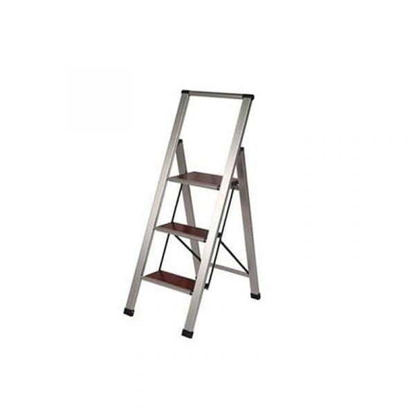 Use the Lightweight Folding 3-Step Ladder to make house chores that much easier.