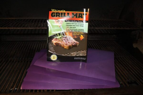You need the miracle grill mat in your kitchen!