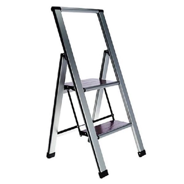 Lightweight Folding 2 Step Ladder Ultimate Innovations