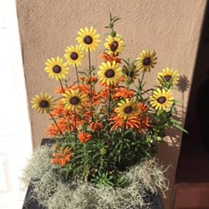 Sunflower Garden Stakes by Ultimate Innovations