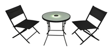 LED Bistro Table and Chair Set