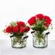 ShopDePalma Set of 2 Glass Vases
