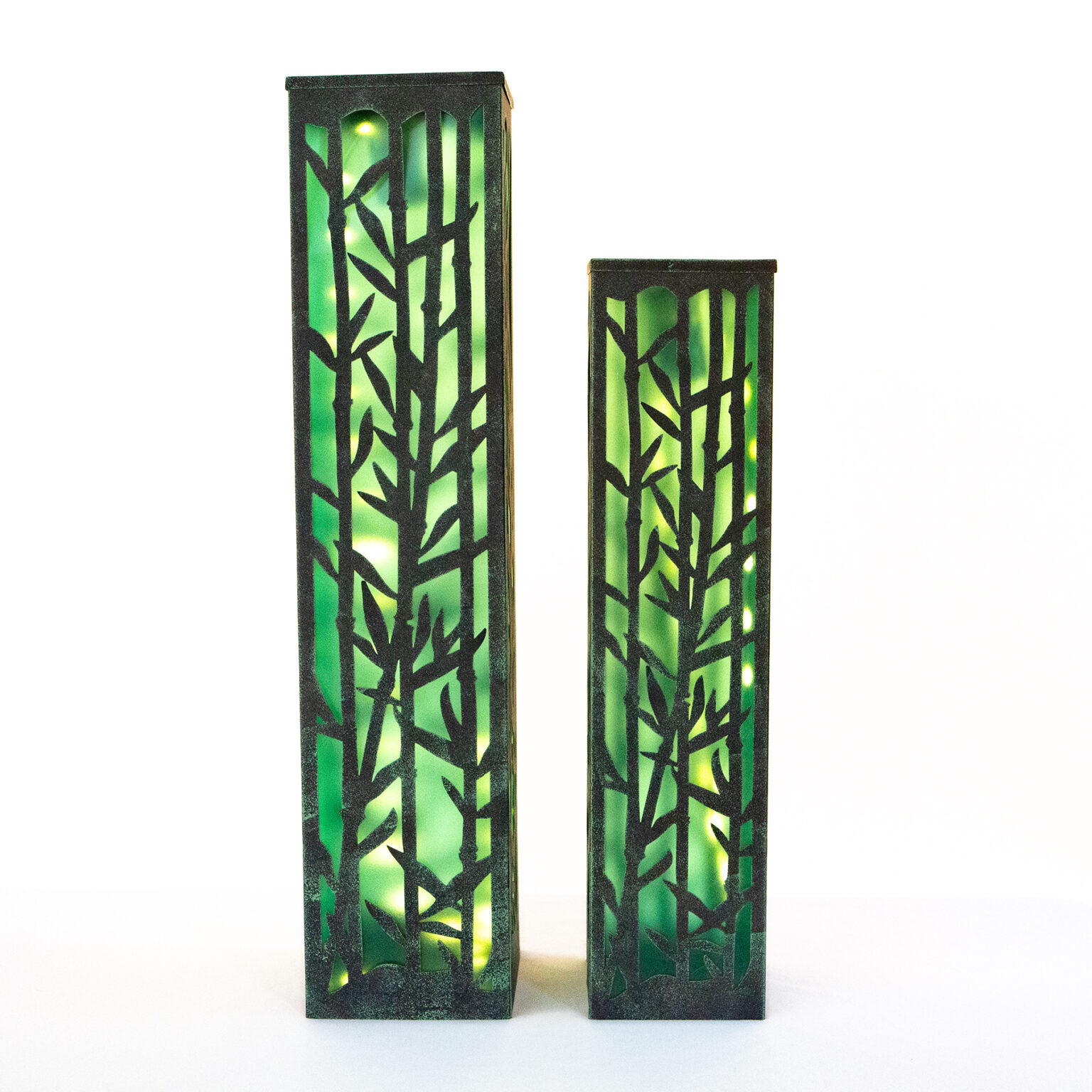 Ultimate Innovations Solar Light Tower Bamboo
