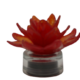 LED Light-Up Glass Flower with Timer by Ultimate Innovations