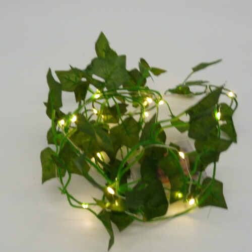 Set of 2 Ivy Vines with LED Fairy Lights by Ultimate Innovations