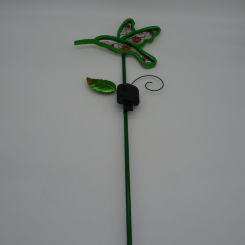 Solar Neon Garden Stake Bugs by Ultimate Innovations