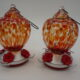Set of 2 Glass Hummingbird Feeders by Ultimate Innovations