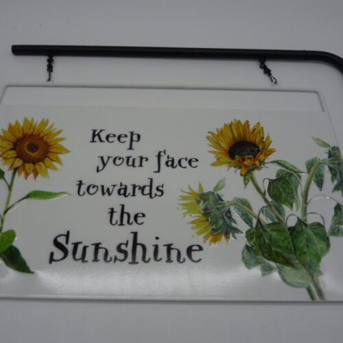 Metal Gardening Sign & Stake by Ultimate Innovations